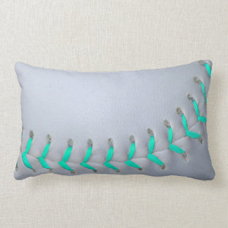 Béisbol/softball azules claros de las puntadas almohada