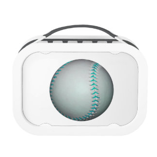 Béisbol/softball azules claros de las puntadas