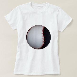 Béisbol/softball blancos y negros playeras