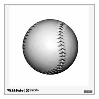 Béisbol/softball de costura negros