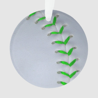 Béisbol/softball verdes claros de las puntadas
