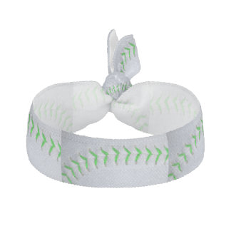 Béisbol/softball verdes claros de las puntadas banda para el cabello