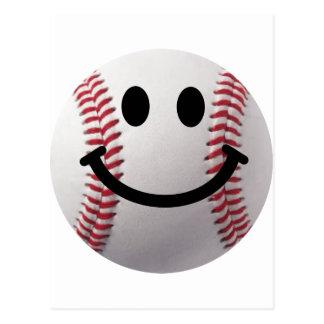 béisbol sonriente tarjetas postales
