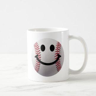 béisbol sonriente tazas de café