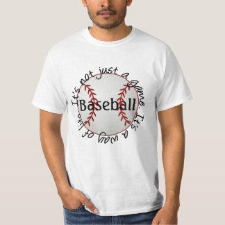 Béisbol-su no apenas un juego poleras