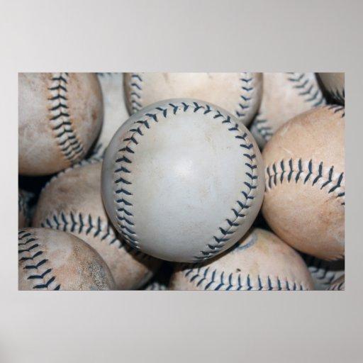 Béisbol superior poster