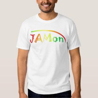 Béisbol T - mangas amarillas de JAMon Remeras