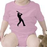 Béisbol - talud trajes de bebé
