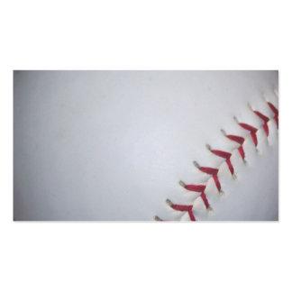 Béisbol Plantilla De Tarjeta De Visita