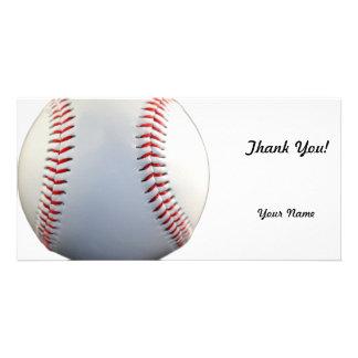 Béisbol Tarjeta Fotográfica Personalizada