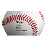 Béisbol Tarjeta De Visita