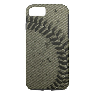 Béisbol texturizado funda iPhone 7