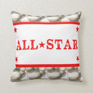 Béisbol todas las almohadas de las estrellas