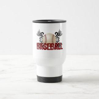 Béisbol tribal taza de café
