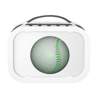 Béisbol verde claro de las puntadas