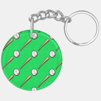 Béisbol verde de neón modelo del softball