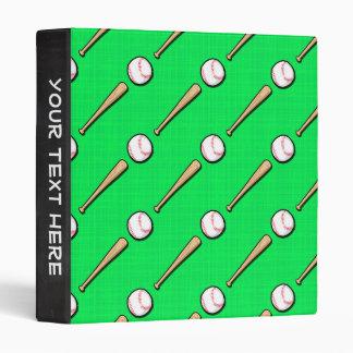 Béisbol verde de neón, modelo del softball