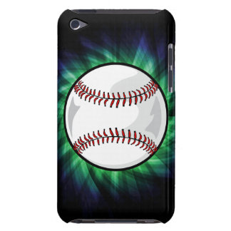 Béisbol verde barely there iPod protector