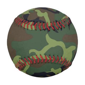 Béisbol verde militar del modelo del camuflaje