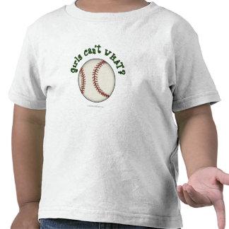 Béisbol-Verde Camiseta