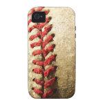Béisbol Vibe iPhone 4 Fundas