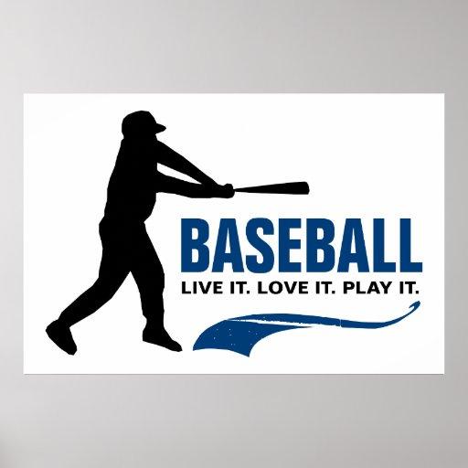 Béisbol: Vive. Ámelo. Juegúelo Poster