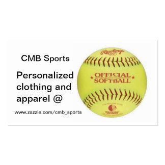 Béisbol, www.zazzle.com/cmb_sports, Personaliz… Tarjetas De Visita