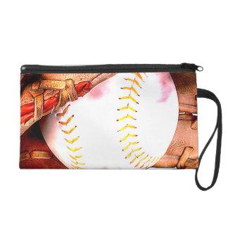 Béisbol y estilo del Grunge del guante