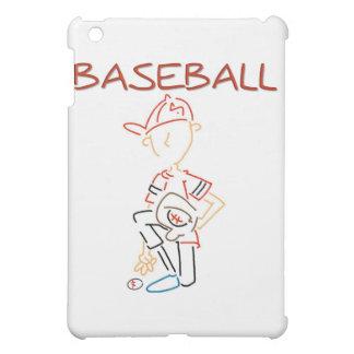 Béisbol y regalos del dibujo lineal