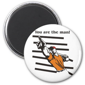 beisbol-you are the man product line 2 inch round magnet