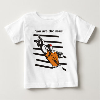 beisbol-you are the man product line baby T-Shirt
