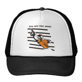 beisbol-you are the man product line trucker hat
