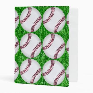 Béisboles en césped mini carpeta
