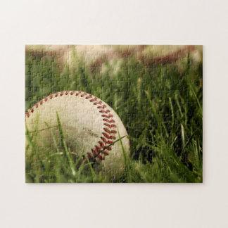 Béisboles nostálgicos puzzle con fotos
