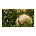 Béisboles nostálgicos tarjeta de negocio