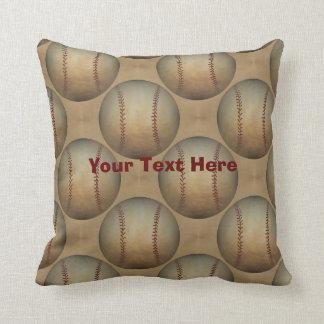 Béisboles personalizados cojín