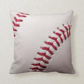 Béisboles - plantilla del fondo del béisbol del cojín decorativo