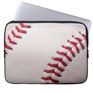 Béisboles - plantilla del fondo del béisbol del funda ordendadores