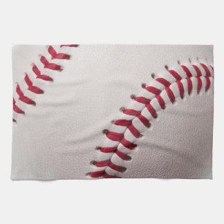 Béisboles - plantilla del fondo del béisbol del pe toallas de cocina