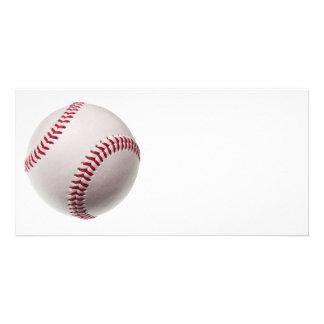 Béisboles - plantilla del fondo del béisbol del pe tarjetas fotograficas