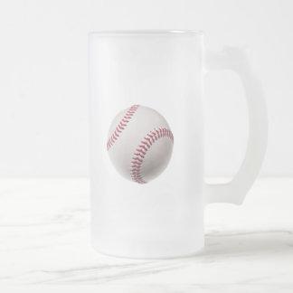 Béisboles - plantilla del fondo del béisbol del taza de cristal