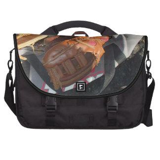 Béisboles y mitón bolsas para portátil