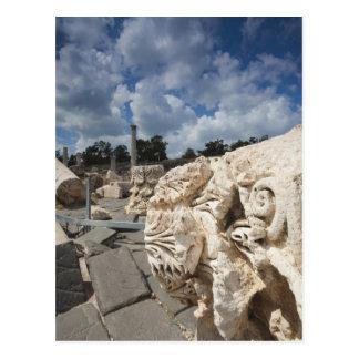Beit ella-Uno parque nacional, ruinas de la Tarjeta Postal