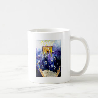 Beit Hamikdash Classic White Coffee Mug