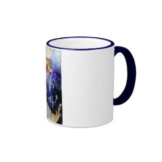 Beit Hamikdash Ringer Coffee Mug
