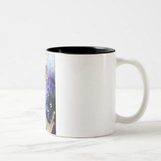 Beit Hamikdash Two-Tone Coffee Mug