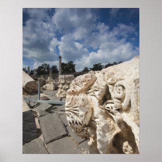 Beit She-An National Park, Roman-era ruins Poster