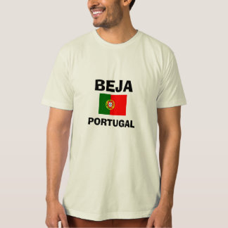 Beja* Portugal Custom Shirt with Flag