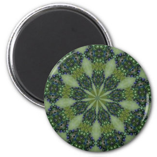 bejeweled 2 inch round magnet