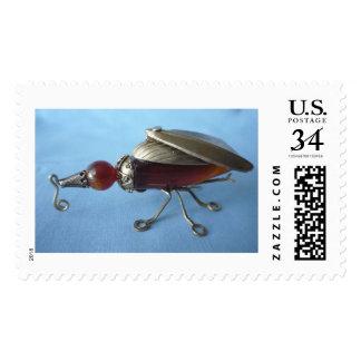 Bejeweled beetle stamp